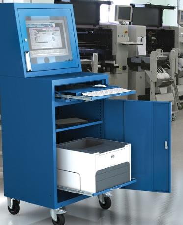 Computerschränke für Werkstatt, Industrie aus Stahlblech